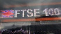 FTSE 100 high 'bolstered' by weak pound