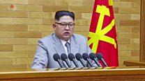 زعيم كوريا الشمالية: زر السلاح النووي دائما على مكتبي وأمريكا ضمن مدى أسلحتنا