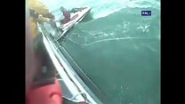 Pair on jet ski rescued from sea