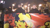 Націоналісти маршем вшанували Бандеру