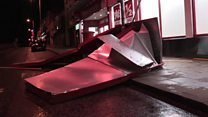 Storm Eleanor causes flooding and damage