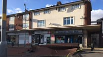 Storm Eleanor blows roof off shops