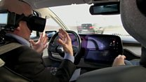 Fed up with motorway driving? Switch to virtual reality