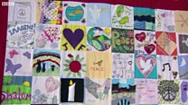 Peace blanket tribute to murdered MP