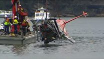 Seaplane wreckage recovered in Sydney