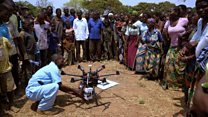 The drones saving lives