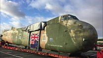 A Bristol Freighter 170 was rescued from New Zealand and brought to Bristol