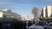 بیش از هزار بازداشتی در یک هفته اعتراضات