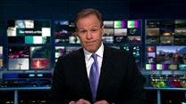 Moment ITV news drops off air