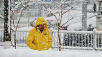 Heavy snow sweeps parts of China