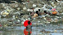 गंगा नदीमा प्रदूषण