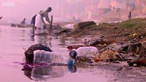 Qanq: Yarım milyon ton plastik tullantı yükü altında