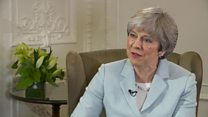 Theresa May: 'Trump is coming to the UK'