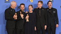 'Three Billboards Outside Ebbing, Missouri' raih penghargaan top Golden Globes