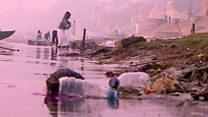 ပလပ်စတစ်ညစ်ညမ်းမှုနဲ့ ဂင်္ဂါမြစ်