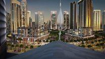 """برج """"الخور دبي """" ينافس برج خليفة"""