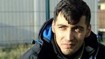 The migrants living where the Calais Jungle once stood