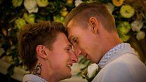 Gay couple among first to wed in Australia