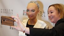 A conversation with Sophia the robot