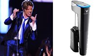 Bottle gadget picks wine to match Bowie