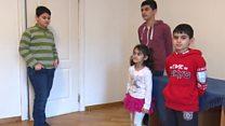 Семья беженцев, которая жила в Шереметьево, перебралась во Львов