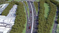Motorway regeneration to ease rush hour