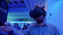 Hands-on with HTC's untethered VR