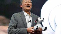 Sony's Aibo robo-dog shows off AI smarts