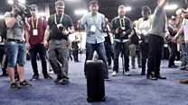 Seeing suitcase and other AI gadgets