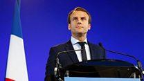 法国总统苦练中文 中国网友点赞叫好