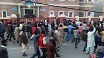 قصور: کم سن بچی کے قتل کے بعد پرتشدد مظاہرے