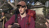 Families return to mudslide-hit Montecito