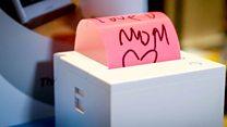 Technophobe mum gets sticky note printer