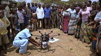 Des drones pour sauver des vies au Malawi