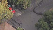 'Parecia campo de batalha da 1ª Guerra', diz xerife sobre devastação após deslizamento na Califórnia