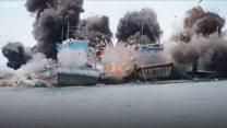 Indonesia dừng việc phá huỷ tàu cá bị bắt?