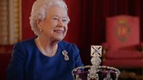 The Queen's advice on wearing a crown