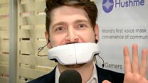 Hushme mask lets users make private calls