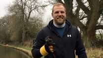 Magnet fishing with James Haskell