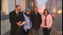 Family tribute to 'bright shining light'