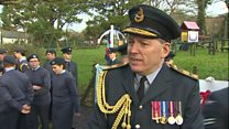 Ex-PM's RAF role commemorated