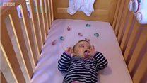 จุกนมหลอกช่วยให้ทารกหลับง่ายขึ้น