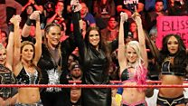 Bringing female equality to the WWE's ring