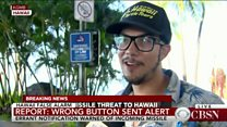 Hawaii alert: 'I started running'