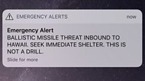 'All personnel take shelter immediately'
