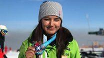स्कीइंग चॅम्पियन आंचल ठाकूरशी बातचित