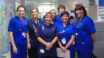 Teamwork in 'exceptionally busy' A&E