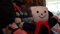Teddy knitter a 'global hit'