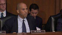 Senator rips Trump official for 'amnesia'