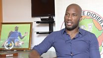 Didier Drogba félicite George Weah pour son élection